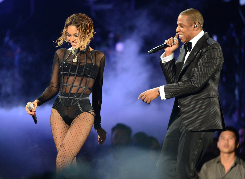 Beyonce and Jay-Z. — AFP pic