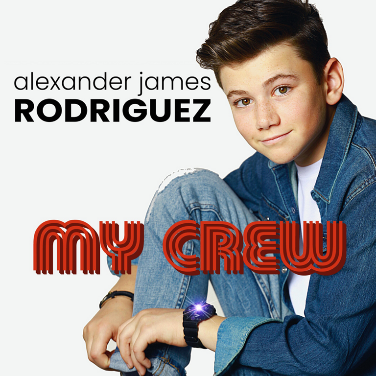 POP SHOP RADIO NEW POP HITS:  International British actor and Hollywood Pop newcomer 'Alexander James Rodriguez' lets loose an addictive pop sound that could be a song from 'Annie' as it celebrates friends and crew in true sophisticated R&B pop style with 'My Crew'– On the Playlist Now